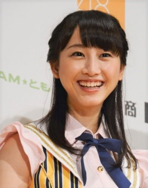 SKE48で活躍していた頃の松井玲奈(2014年撮影)