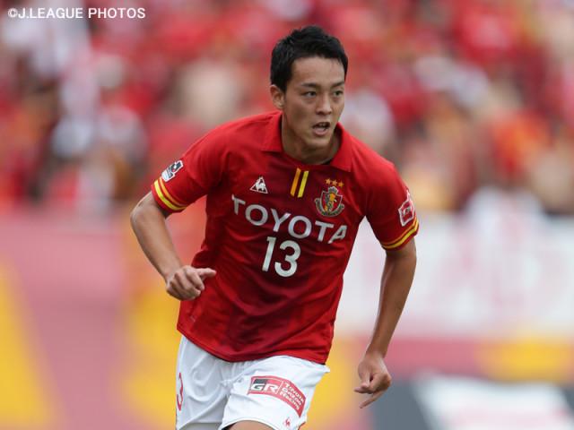 名古屋の新選手会長に就任した磯村亮太 [写真]=J.LEAGUE PHOTOS