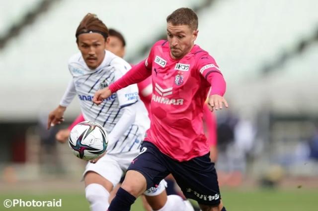 今季からC大阪でプレーするFWタガート [写真]=Photoraid