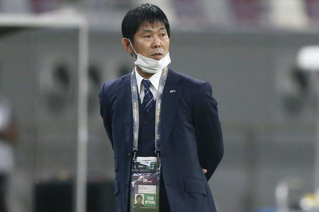 日本代表の森保監督 [写真]=Getty Images