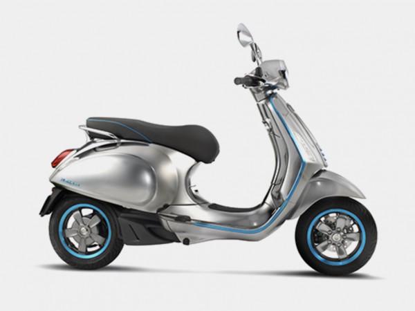 Vespa 来年にも電気スクーター
