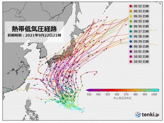 新たな「台風のたまご」発生か 最新の進路予測に変化 日本列島に近づくおそれも