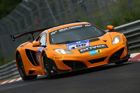 ニュルブルクリンク24時間:66号車マクラーレンがPP獲得。GT-Rは10番手に