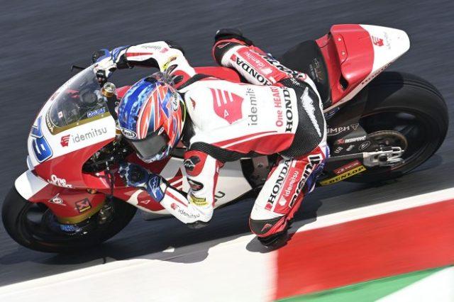2021年MotoGP第14戦サンマリノGPGP Moto2クラス:小椋藍(IDEMITSU Honda Team Asia)