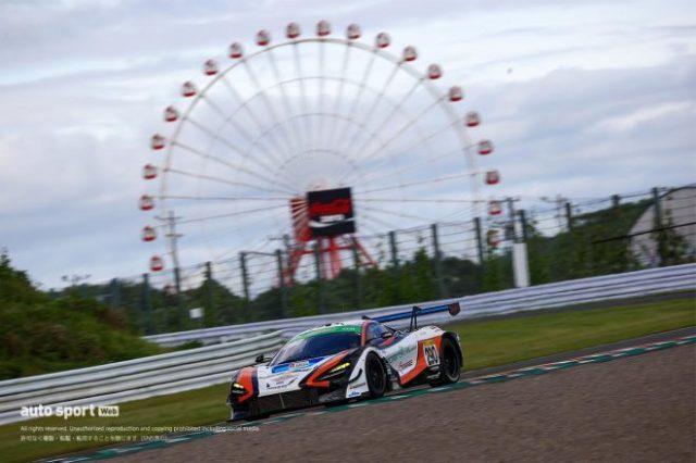 今季初ポールを獲得した290号車Floral UEMATSU FG 720S GT3(植松忠雄/澤圭太/川端伸太朗/井出有治)