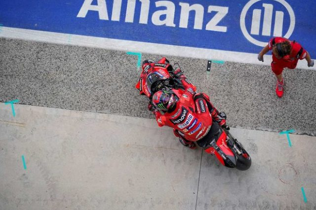 2021年MotoGP第14戦サンマリノGP フランセスコ・バニャイア(ドゥカティ・レノボ・チーム)