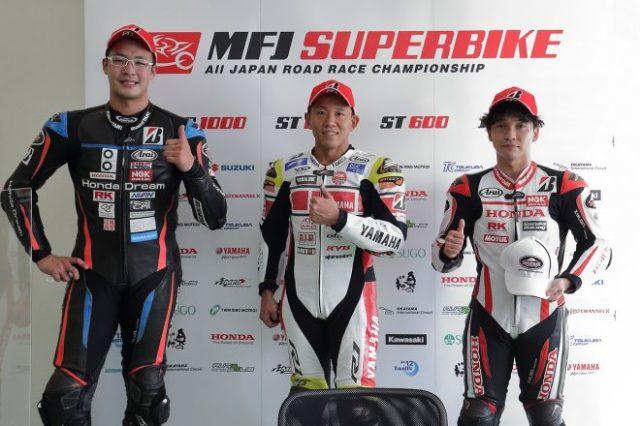 2021年全日本ロード第7戦オートポリス JSB1000 レース1 トップ3