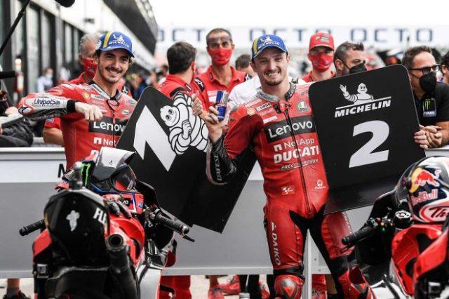 2021年MotoGP第14戦サンマリノGP:フランセスコ・バニャイアとジャック・ミラーがフロントロウ獲得