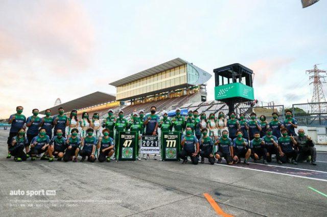スーパー耐久第5戦鈴鹿でST-Xクラス、ST-Zクラスを制し、さらにST-Xではチャンピオンを決めたD'station Racing