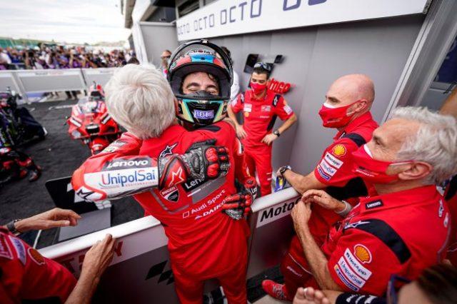 2021年MotoGP第14戦サンマリノGP フランセスコ・バニャイア(ドゥカティ・レノボ・チーム)が優勝を飾る