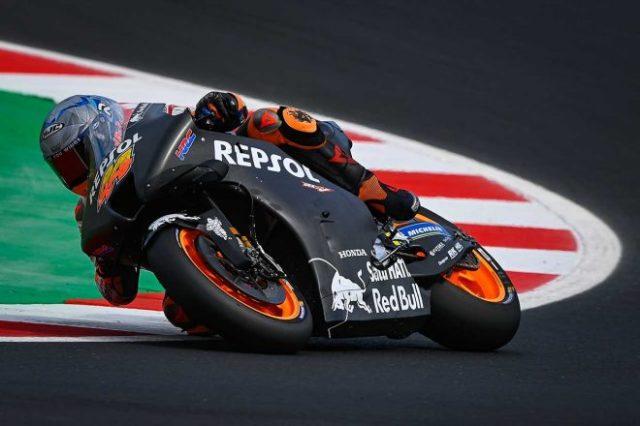 MotoGPミサノ公式テスト2日目 ポル・エスパルガロ(レプソル・ホンダ・チーム)