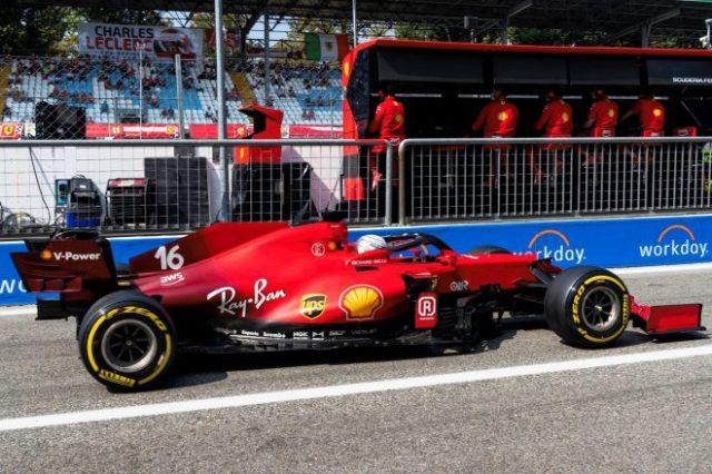 2021年F1第14戦イタリアGP シャルル・ルクレール(フェラーリ)