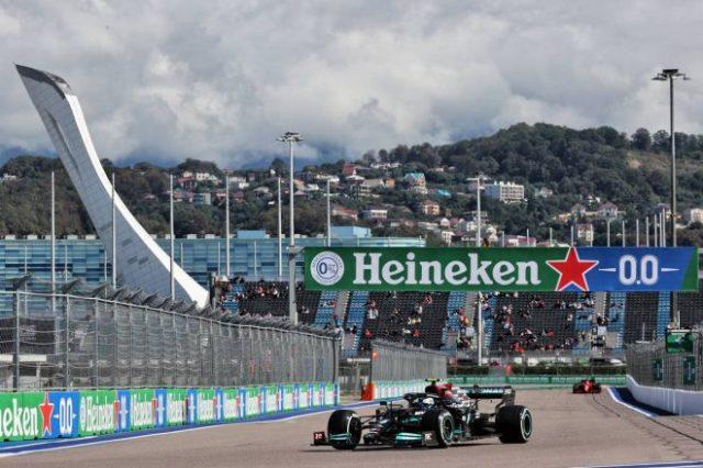 2021年F1第15戦ロシアGP バルテリ・ボッタス(メルセデス)