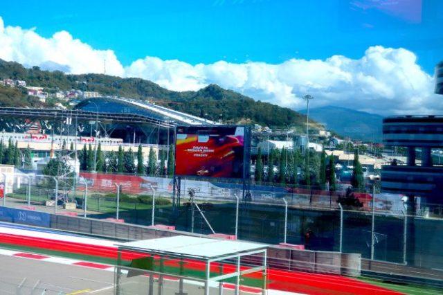 2021年F1第15戦ロシアGP 金曜日のソチ・オートドローム