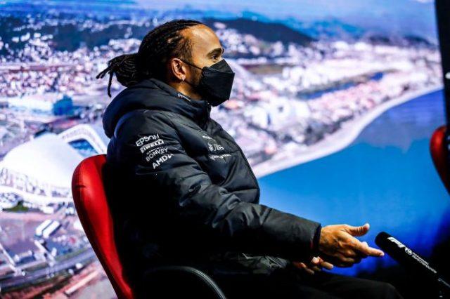 2021年F1第15戦ロシアGP ルイス・ハミルトン(メルセデス)