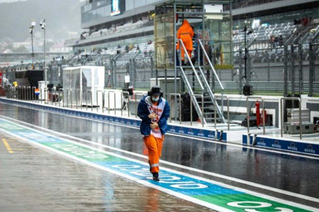 大雨でレース中止となったFIA-F3第7戦ロシア レース2