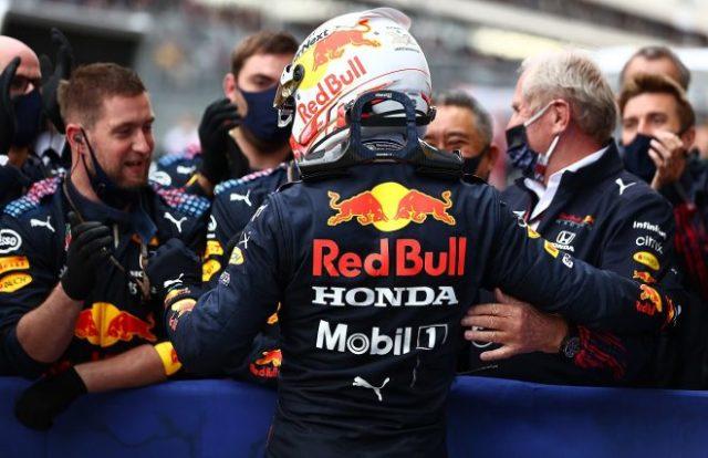 2021年F1第15戦ロシアGP マックス・フェルスタッペン(レッドブル・ホンダ)が2位獲得