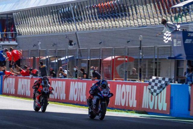 SBK第10戦スペイン決勝レース2
