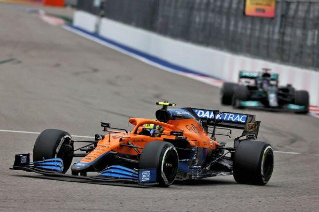 2021年F1第15戦ロシアGP ランド・ノリス(マクラーレン)