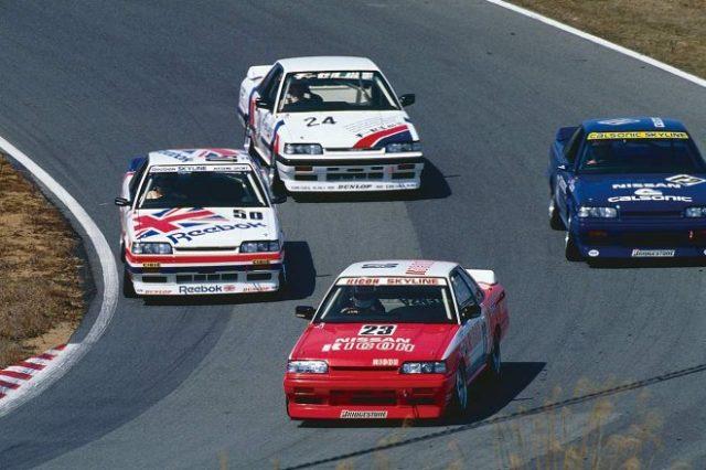 1988年第2戦の西日本ラウンドからは全車がHR31型になった。このレースはアンデルス・オロフソン/鈴木亜久里組の駆るリコーニッサンスカイラインが制した。