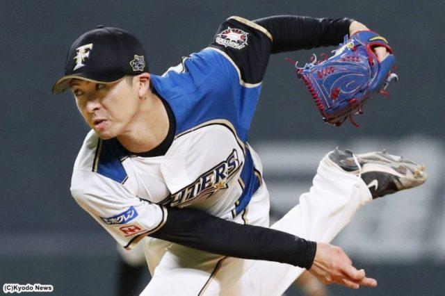 日本ハム・上沢直之(C)Kyodo News