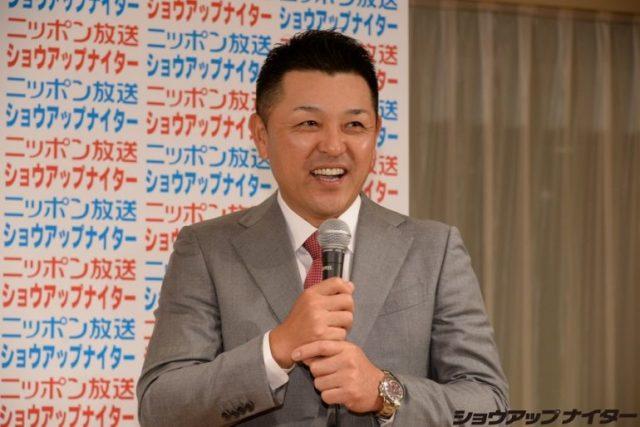 ニッポン放送ショウアップナイターで解説を務める谷繁元信氏