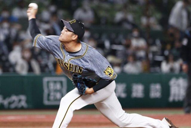 阪神・齋藤友貴哉(C)Kyodo News