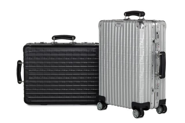 フェンディ×リモワ スーツケース                    Image by: フェンディ