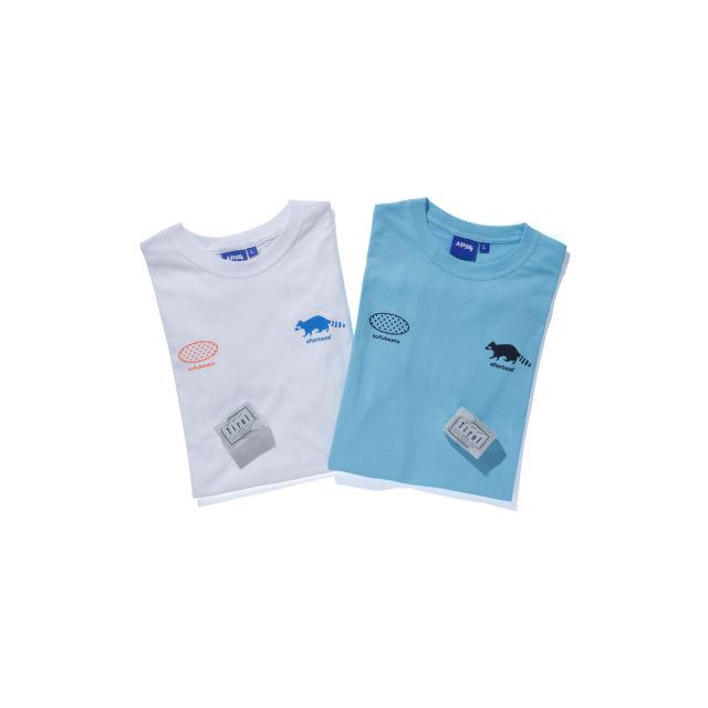 afterbase® x tofubeats Raccoon T-shirt