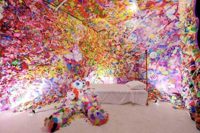作品「カラフルリベリオン セブンス ナイトメア(Colorful Rebellion Seventh Nightmare)」                    Image by: アソビシステム