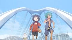 「とよたアニメシネマフェスティバル」オープニング映像の場面カット。