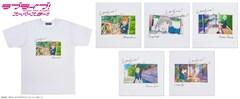 「ラブライブ!スーパースター!! フォト風Tシャツ(ホワイト)」